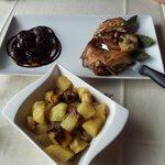 coniglio e patate arrosto