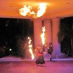 Fire Show at El Cid
