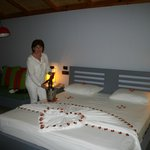 chambre de beach villa