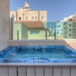 Rooftop suite with jacuzzi