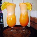 Orange Creme vodka drink!