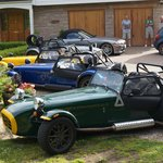 Caterhams for hire