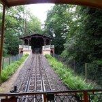 Schienen der Nerobergbahn