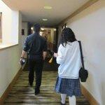 hallway leading to the main lobby