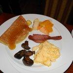 Lovely breakfasts.