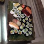 first attempt at making sushi, theirs looks far far better