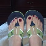 My Margaritaville Flip Flops/Flip Flop Friendly!
