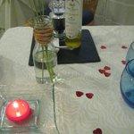 La cena romántica
