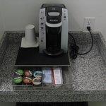 Keurig coffee in room