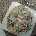 Excellent Caesar Salad - quite filling