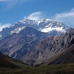 View of the Aconcagua.