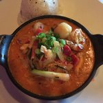 Seafood Panang Curry-Yummo!!