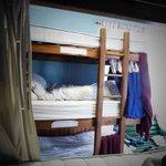 Schlafsaal mit Bettzeug