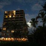 Royal Lahaina Hotel at night