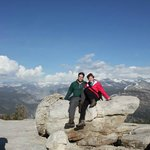 Top of Sentinel Dome in Yosemite National Park