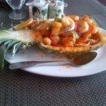 Thai Chili - Pineapple Shrimp