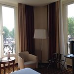 Beautiful room and view