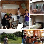 our cosy lil apartment in Jeju-do... Lovely! :)