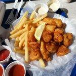 fish shrimp plate