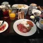 Scrumptous breakfast