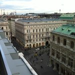 View of the Kärtnerstrasse from room 706