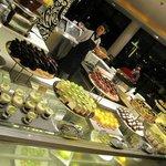 Dinner buffet at Café TATU