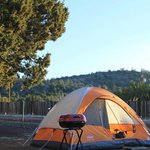 Tent Camping at the Grand Canyon KOA