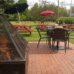 Pat's - Sit by the fire and enjoy your meal and drinks!