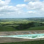 View of panorama from just below the White Horse.