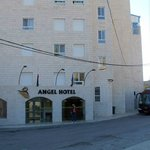 Angel Hotel entrance