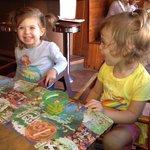 Breakfast happy kids