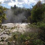 beautiful falls at Ausable Chasms