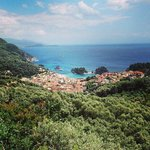 view over Parga