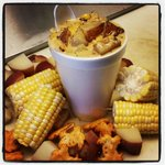 Crabby Chris Roasted Corn and Crab Chowder