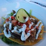 Pulled Pork Tostada