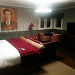 Young Tom Morris room