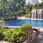 Nice pool area.