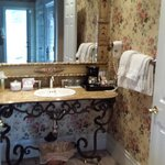 view of the vanity area...