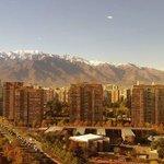 Vista da Cordilheira dos Andes!