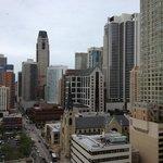 Balcony view, 18th floor