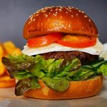 burger from our every week lunch menu