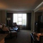 Central living room Bdrm's L & R