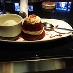 Dessert at Red bar