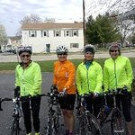 Part of group ready to ride back to Cincinnati