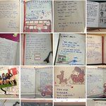 Guestbooks to leave down your footprints