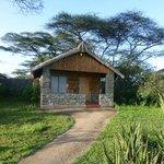 Bungalow with private veranda?