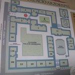 Plan of Palacio Municipal / Arzobispal