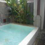 Plunge pool suite