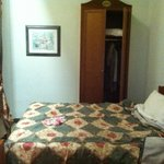Paid for single room - This is the double bed.