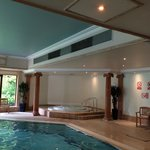 Dampness on ceiling! In spa